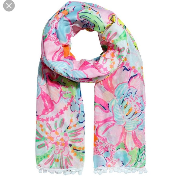 Lilly Pulitzer for Target Accessories - Lilly Pulitzer x Target Nosie Posey Scarf